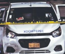 Sujetos armados asesinan a balazos a dos taxistas que estaban platicando, en Morelos