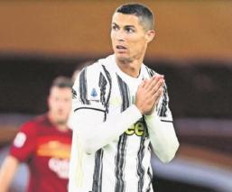 CR7 vuelve a dar positivo por Covid-19, no jugará contra Barcelona