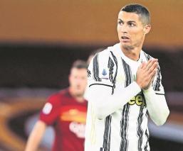 CR7 vuelve a dar positivo por Covid-19; no jugará contra Barcelona