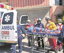 'El Moco' se resbala en una barranca y termina en el hospital, en Morelos
