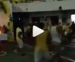 Graban violento enfrentamiento dentro de penal de Cuautla, tras festejos a San Judas Tadeo