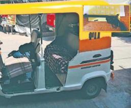 Conductor usaba mototaxi para repartir droga en Morelos, hay seis detenidos