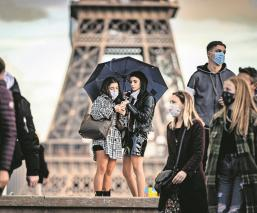 Gobiernos de Alemania y Francia anuncian segundo confinamiento por Covid-19