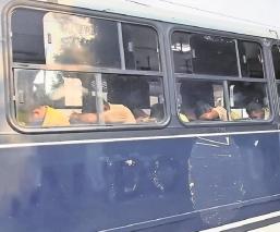 Buscan vincular a detenidos por provocar daños a unidades oficiales en Morelos