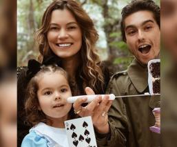Natália Subtil y Sergio Mayer Mori liman asperezas para celebrar el cumpleaños de su hija