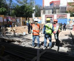 Albañil muere aplastado por toneladas de tierra en obra de reconstrucción del 19-S, en CDMX