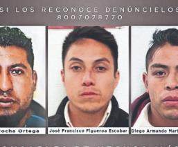 Dan condena a tres hombres que secuestraron y violaron a mujer en un taxi, en Edomex