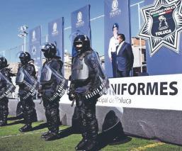 Mandan a volar a 90 mandos de la Policía de Toluca por andar de corruptos