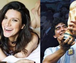 """Laura Pausini explota por atención a muerte de Maradona, """"una persona muy poco apreciable"""""""