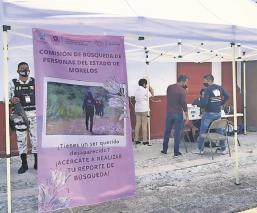 Parroquias en Morelos colocarán módulos que ayuden en la búsqueda de personas desaparecidas