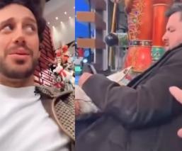 """Lambda García filtra video de su pelea con Paul Stanley detrás de cámaras de """"Hoy"""""""