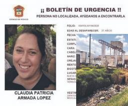 Familiares buscan viva o muerta a enfermera desaparecida en Edomex, cel los lleva a canal