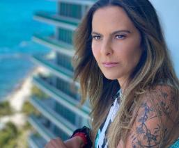 Kate del Castillo llevará al septimo arte tres libros de la periodista Lydia Cacho