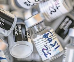 OMS reporta que 10 países concentran el 95 por ciento de vacunas contra el Covid
