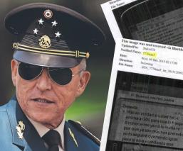 Revelan todo el expediente de Estados Unidos sobre el general Salvador Cienfuegos