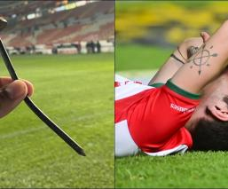 El impresionante clavo que provocó la lesión de Unai Bilbao
