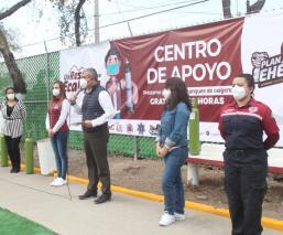 Empresario se nombra dueño de parque público donde se apoya pacientes Covid, en Ecatepec