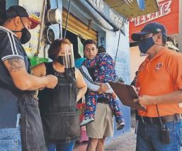 Exhortan a comerciantes a cumplir con las medidas sanitarias contra Covid, en Morelos