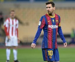 Nunca hasta ahora, en 753 partidos con el primer equipo azulgrana, Messi había recibido una tarjeta roja