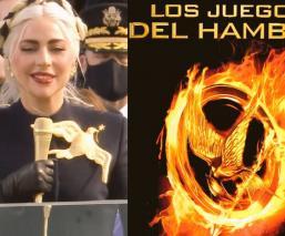 Aseguran que Lady Gaga inauguró los 'juegos del hambre' en toma de posesión de Joe Biden