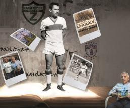 Manuel Vergara, campeón con el Zacatepec presenta su libro 'Leyenda tlahuica en el futbol'