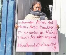 Vecinos de Nezahualcóyotl piden no desmantelar hospital provisional ante Covid, en Edomex