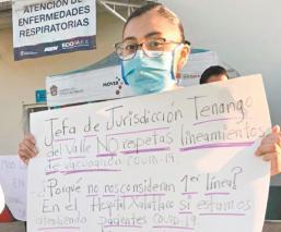 Personal médico en Edomex manifiesta favoritismos para ser vacunados contra Covid
