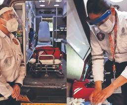 Paramédicos y bomberos del Edomex piden ser vacunados contra Covid-19, temen enfermar