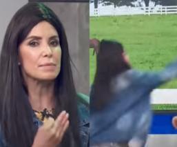 """Tachan de violenta a Andrea Escalona, tras propinarle cachetadón a compañera de """"Hoy"""""""