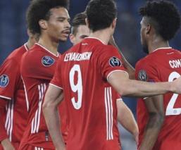 Bayern golea a la Lazio en la ida de los Octavos de Final