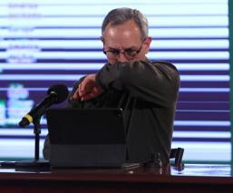 Hugo López-Gatell con problemas de oxigenación por Covid, revela Ricardo Cortés Alcalá