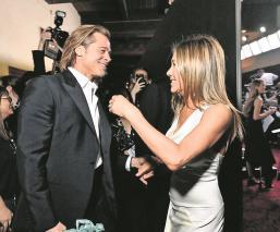 Jennifer Aniston y Brad Pitt  despiertan rumores de reconciliación amorosa