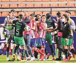 Santos pierde la protesta de racismo en contra del Atlético de San Luis