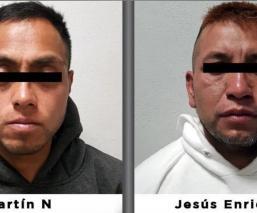 Detienen a presuntos extorsionadores de un grupo delictivo en Tecámac, Estado de México