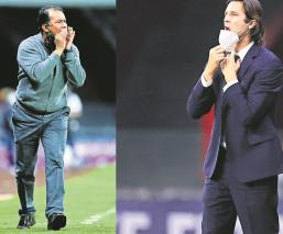"""Juan Reynoso y Santiago Solari """"no fueron platos de segunda mesa"""", comandan la Liga MX"""
