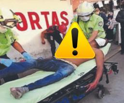 Por recoger una chela, migrante cae de tren y éste le amputa el brazo en Edomex