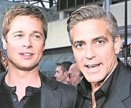 Famosa actriz busca reconciliar a Brad Pitt y George Clooney, llevan 8 años sin hablarse
