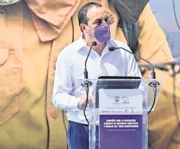 Gobernador Cuauhtémoc Blanco llama a evitar la quema de bosques en Morelos