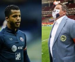 Miguel Herrera se disculpa con Giovani Dos Santos