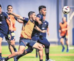 Roger Martínez agradece a Solari las oportunidades en el América, no se ve fuera del club
