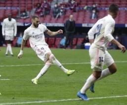 Real Madrid rescata empate ante el Atlético de Madrid