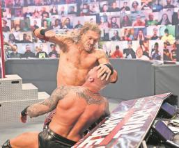 Edge va este domingo por el campeonato de Roman Reigns en el máximo evento de la WWE