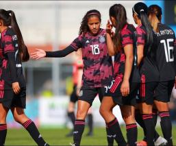 La Selección Femenil empató ante Eslovaquia en su gira por Europa