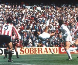 Se cumplen 33 años del golazo de chilena de Hugo Sánchez