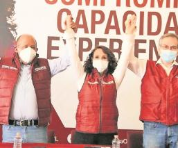 Militantes del PRD se suman a campaña de Dolores Padierna para la alcaldía Cuauhtémoc