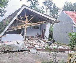 Sismo de 6 grados de magnitud en Indonesia deja al menos siete muertos