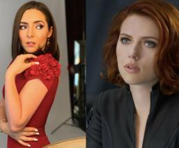 Tras su escandalosa tanga, Ariadne Díaz posa de nuevo y la comparan con Scarlett Johansson