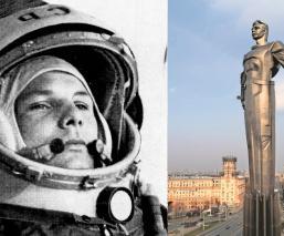 Yuri Gagarin celebra que hace 60 años fue el primer ruso en llegar al espacio
