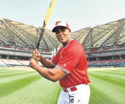 Diablos Rojos de la LMB presentó a Lisbán Correa como su nuevo jugador