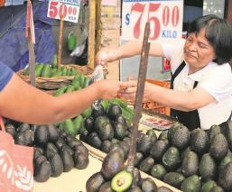 El precio del aguacate se dispara hasta casi 80 pesos por kilo en la CDMX